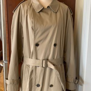 Stafford Double Breasted Trench Coat 42 Lo…